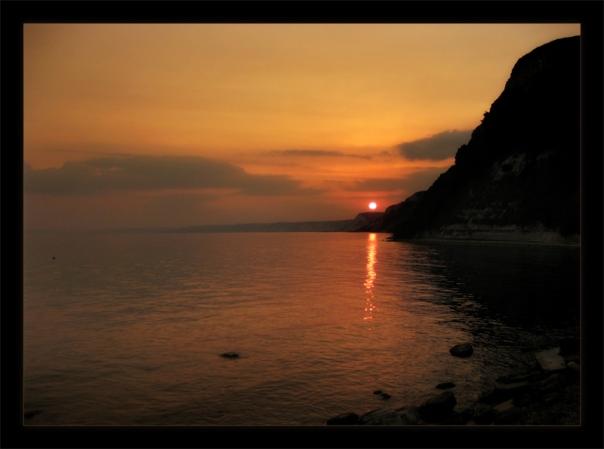 Магнетичният заник на слънцето прегръща залива