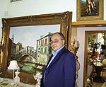 Владимир Чорбаджиев в ателието си     сн. Мариян Томов